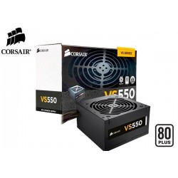 FUENTE DE PODER CORSAIR VS550 80PLUS (WHITE) 550W (CP-9020097-WW)
