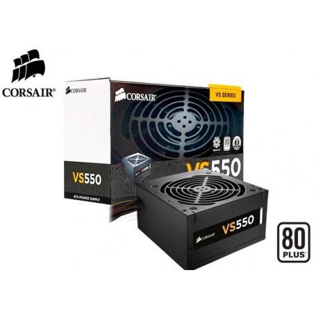 FUENTE DE PODER CORSAIR VS550 80PLUS (WHITE) 550W (CP-9020097-WW)