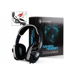 AURICULARES GAMER SADES SA-922 (XBOX, PS3, PC)