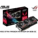 T.V. ASUS ROG STRIX RX VEGA 64 8G OC GAMING EDITION