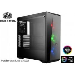 GABINETE COOLER MASTER MASTERBOX LITE 5 RGB EDITION