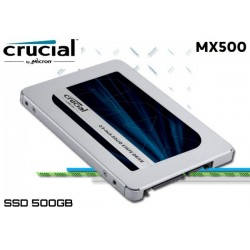 500GB SSD CRUCIAL MX500 (CT500MX500SSD1)