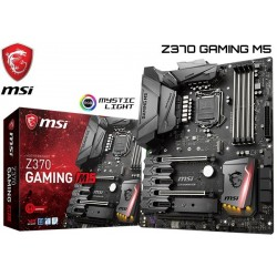 M.B. MSI Z370 GAMING M5 (LGA1151) 8VA GENERACION (COFFE LAKE)