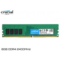 8GB DDR4 2400MHz 1.2V CL17 CRUCIAL (CT8G4DFD824A) UDIMM