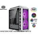 GABINETE COOLER MASTER MASTERCASE H500P MESH WHITE (2xFAN 200MM RGB)