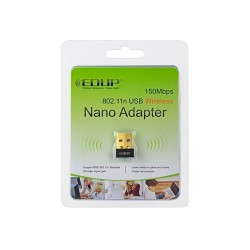 ADAPTADOR USB EDUP EP-N8553 NANO WIRELESS 6dBi 150Mbps 802.11N