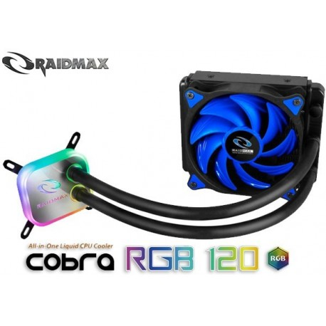 WATER COOLING RAIDMAX COBRA RGB 120 (BLUE EDITION)