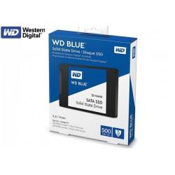 500GB SSD 2.5 WESTERN DIGITAL BLUE 3D NAND (WDS500G2B0A)