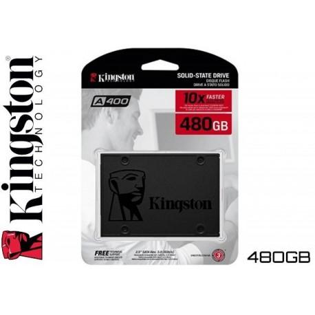 480GB SSD KINGSTON A400 (500MB LECTURA / 450MB ESCRITURA)