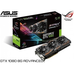 T.V. ASUS ROG STRIX GEFORCE GTX1080 8G ADVANCED EDITION