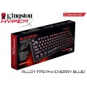 TECLADO MECÁNICO KINGSTON HYPERX ALLOY FPS PRO (HX-KB4BL1-US/WW) CHERRY BLUE (INGLES)