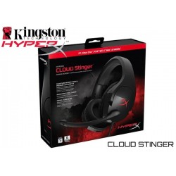 AURICULARES GAMER KINGSTON HYPERX CLOUD STINGER (HX-HSCS-BK/LA)