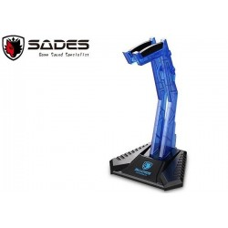 SADES HEADSET STAND HOLDER (BLUE)
