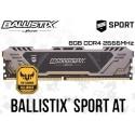 8GB DDR4 2666MHz CRUCIAL BALLISTIX SPORT AT BLS8G4D26BFSTK (TUF GAMING ALLIANCE)