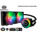 WATER COOLING COOLER MASTER MASTERLIQUID ML240R RGB (ADDRESSABLE ARGB)