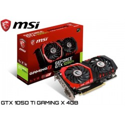 T.V. MSI GEFORCE GTX 1050 TI GAMING X 4GB