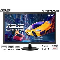 "23.6"" LED ASUS VP247QG Full HD (1920x1080), 1 ms, 75 Hz, AMD FREESYNC"