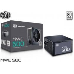 FUENTE PODER COOLER MASTER MWE 500 (500W) 80PLUS WHITE