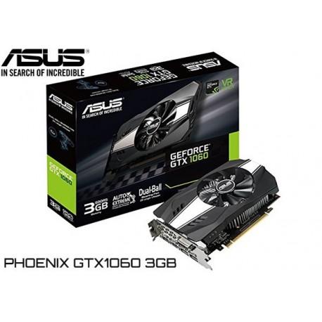 T.V. ASUS PHOENIX GTX 1060 3GB