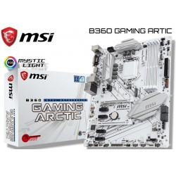 M.B. MSI B360 GAMING ARTIC (LGA1151) 8VA GENERACION (COFFE LAKE)