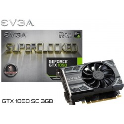T.V. EVGA GEFORCE GTX 1050 SUPERCLOCKED 3GB GDDR5