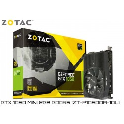 T.V. ZOTAC GEFORCE GTX 1050 MINI 2GB