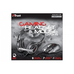 AURICULARES TRUST GXT 249 GAMING HEADSET & MOUSE