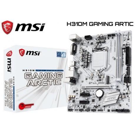 M.B. MSI H310M GAMING ARTIC (LGA1151) 8VA GENERACION (COFFE LAKE)