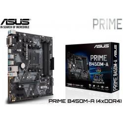 M.B. ASUS PRIME B450M-A (AM4) DDR4 (RYZEN)