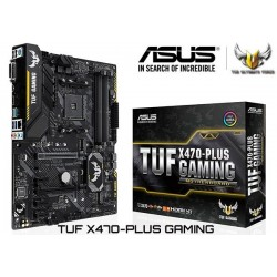 M.B. ASUS TUF X470-PLUS GAMING (AM4) DDR4 (RYZEN)