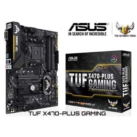 M.B. ASUS TUF X470-PLUS GAMING (AM4) DDR4 (RYZEN)