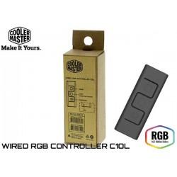 CONTROLADOR COOLERMASTER C10L RGB CON CABLE (RE-C10L-RGB-R1)