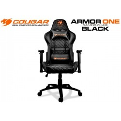 SILLA GAMER COUGAR ARMOR ONE GAMING CHAIR (BLACK)