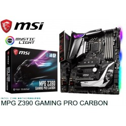 M.B. MSI MPG Z390 GAMING PRO CARBON (LGA1151)