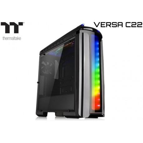 GABINETE THERMALTAKE VERSA C22 (RGB) BLACK EDITION