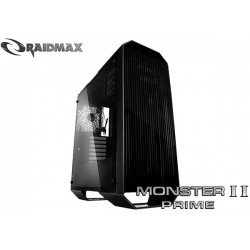 GABINETE RAIDMAX MONSTER II PRIME (TG) BLACK