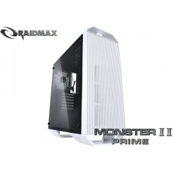 GABINETE RAIDMAX MONSTER II PRIME (TG) WHITE