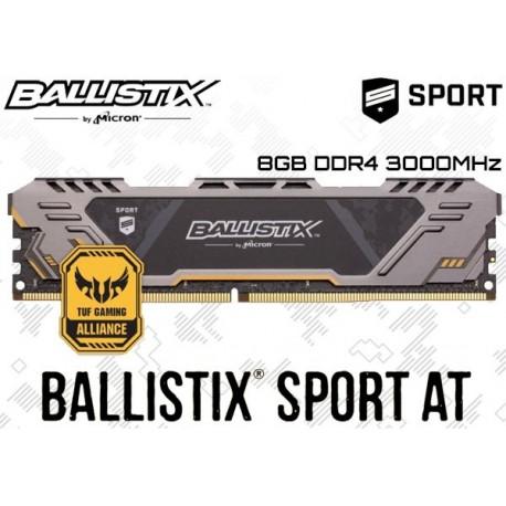8GB DDR4 3000MHz CRUCIAL BALLISTIX SPORT AT BLS8G4D30CESTK (TUF GAMING ALLIANCE)