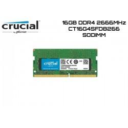 16GB DDR4 2666MHZ CRUCIAL CT16G4SFD8266 (SODIMM)