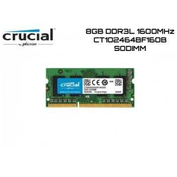8GB DDR3L 1600MHZ CRUCIAL CT102464BF160B (SODIMM)
