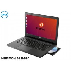 NOTEBOOK DELL INSPIRON 14 3467 I3-7020U (2.3GHz) 4GB 1TB UBUNTU (7RD8F)