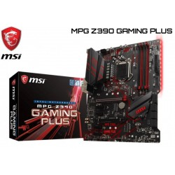 M.B. MSI MPG Z390 GAMING PLUS (LGA1151)