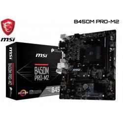 M.B. MSI B450M PRO-M2 (AM4) DDR4 (RYZEN)