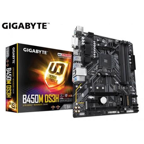 M.B. GIGABYTE B450M DS3H (AM4) DDR4 (RYZEN)
