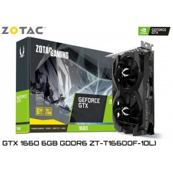 T.V. ZOTAC GEFORCE GTX 1660 6GB GDDR6 192BIT (ZT-T16600F-10L)