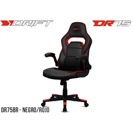 SILLA GAMER DRIFT DR75 BLACK/RED (DR75BR)