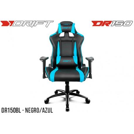 SILLA GAMER DRIFT DR150 BLACK/BLUE (DR150BL)