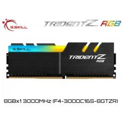 8GB DDR4 3000MHz (8GBx1) G.SKILL TRIDENT Z RGB (8GB DDR4 3000MHz (8GBx1) G.SKILL TRIDENT Z RGB (F4-3000C16S-8GTZR)