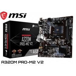 M.B. MSI A320M PRO-M2 (AM4) DDR4 (RYZEN)