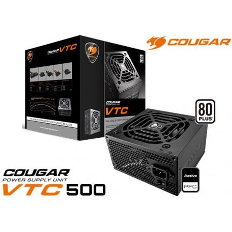 FUENTE DE PODER COUGAR VTC400 400W 80P WHITE (31CGRFP400)